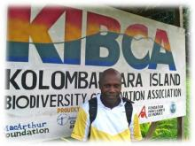 KIBCA Coordinator Ferguson Vaghi is packing his bags for  Calgary, Canada