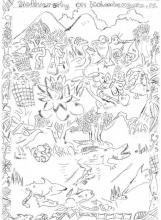 Festival Drawing Comp - Senior - Winner - Alex Moss Aruhane, Ringgi Primary