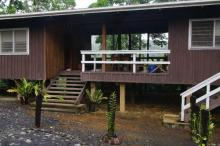 Front entrance of Imbu Rano Lodge