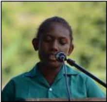 Izian Zuadi - Junior speech comp winner
