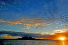 Kolombangara sunrise