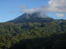 Mt Rano viewed from Imbu Rano
